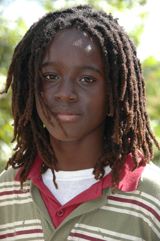 Young Dreadlocks This Young Boy Was Taking In The