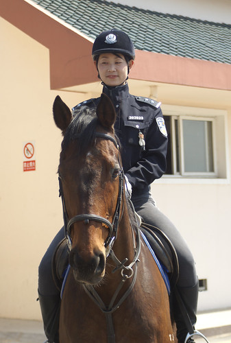 Dalian Women Mounted Police | by Dennis Wright
