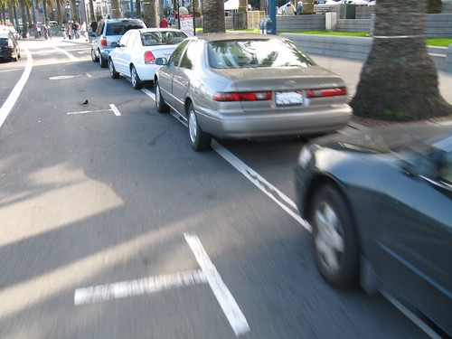 San Francisco bike lane and parallel parking | by Richard Masoner / Cyclelicious