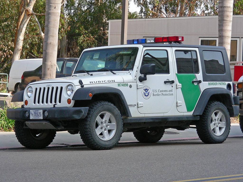New Boarder Patrol Car