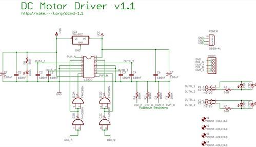 Dc Motor Driver V1 1 Zach Hoeken Flickr