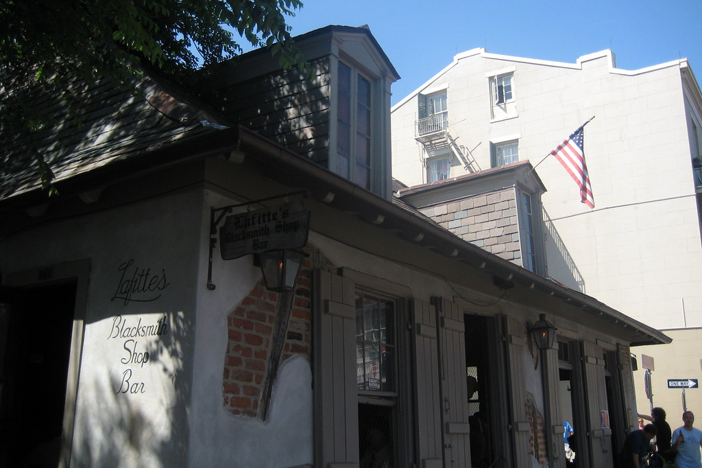 New Orleans French Quarter Lafitte S Blacksmith Shop Ba