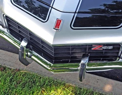 Camaro Bumper Guard : Chevrolet camaro bumper guards  camaros looked