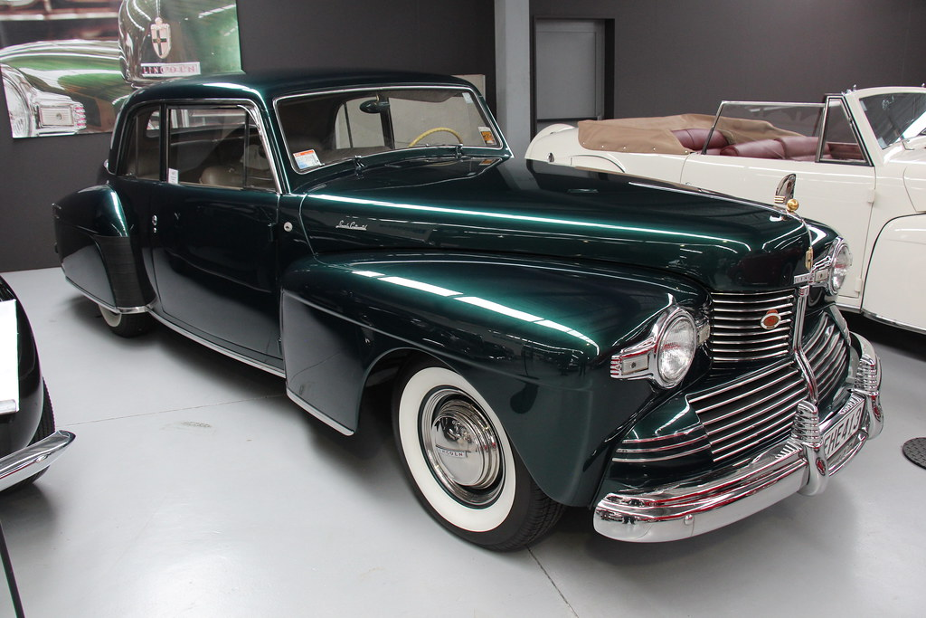 1942 Lincoln Continental Coupe The Lincoln Motor Company