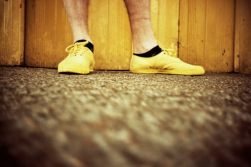 yellow shoes | by the brownhorse
