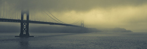 Misty Morning at the Golden Gate | by Luis Montemayor