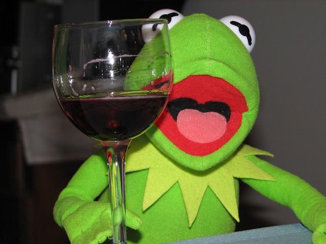 Thanksgiving 2007 - Kermit! | Explore purpleslog's photos ... Kermit Drinking Picture