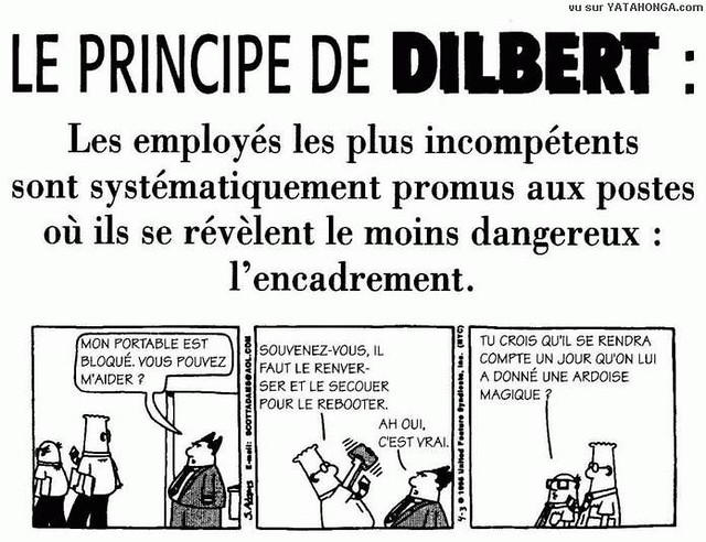 le principe de dilbert