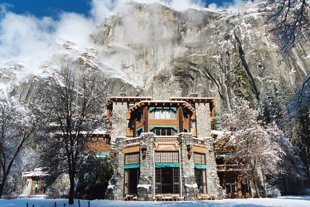 ahwahnee hotel winter