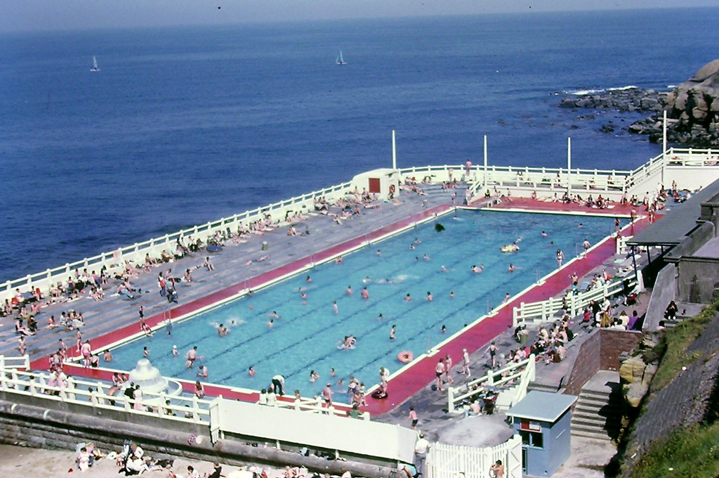 Tynemouth Outdoor Swimming Pool Forty Years Ago Old Koda Flickr