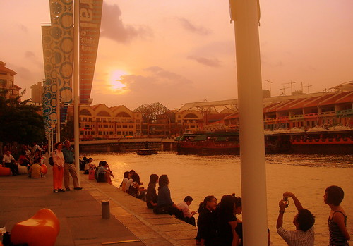 Singapore River - Clarke Quay | by HenryLeongHimWoh