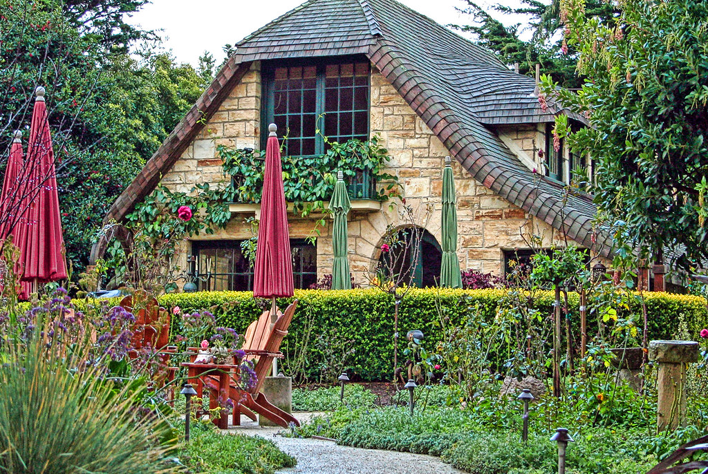 The Fairytale Cottages of Carmel Gate House built in the Flickr