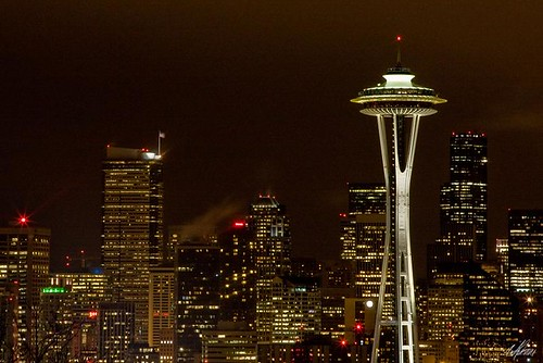 Seattle Cityscape by Night | by Andrionni Ribo