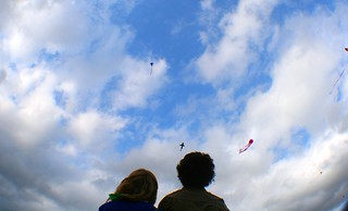 Kite-flying couple | by Shelley N.