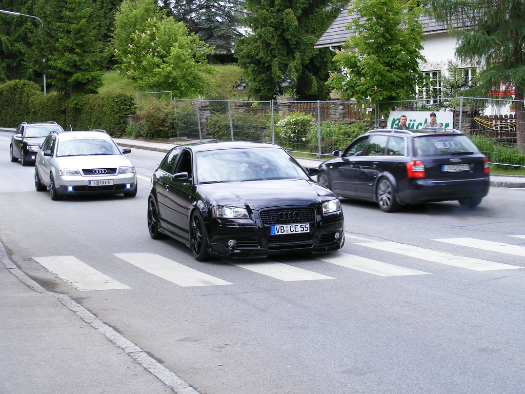 Audi A3 8p Black Mycedes Flickr