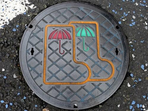 Tama Tokyo, manhole cover 2 (東京都多摩市のマンホール2)