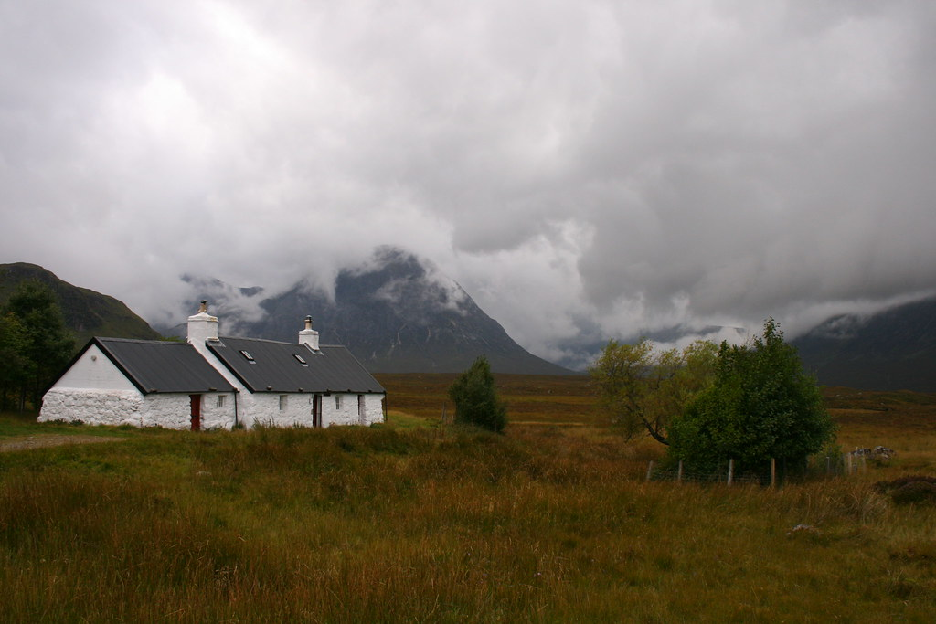 glen coe just before our final stop for that day at the the kings house delano mn the kings house pembridge