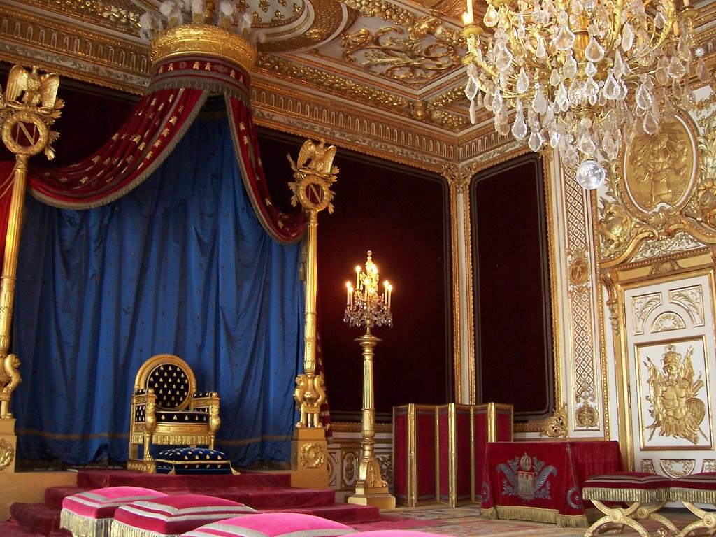 Napoleon I S Throne Room