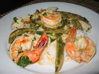 Shrimp on Coconut Rice | by Kevin - Closet Cooking