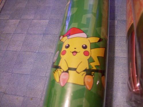 pokemon wrapping paper | pikachu | himynameisash | flickr