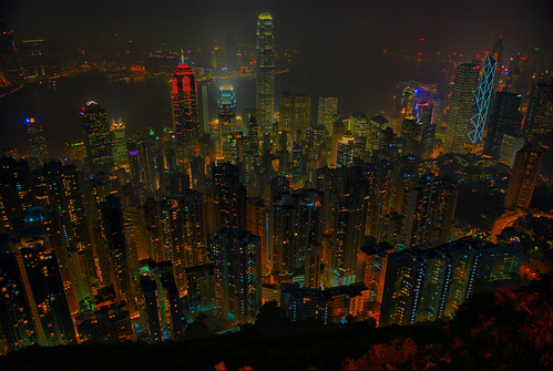 Skyline from the Peak | by jazzpic