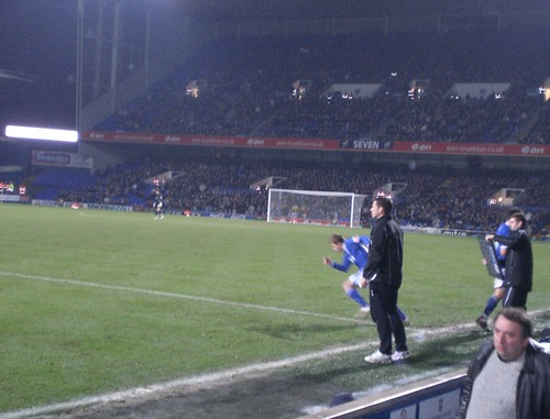 Ipswich Town v Burnley 22nd December 2007 (14) Jordan Rhodes comes on as sub. | by Bury Gardener
