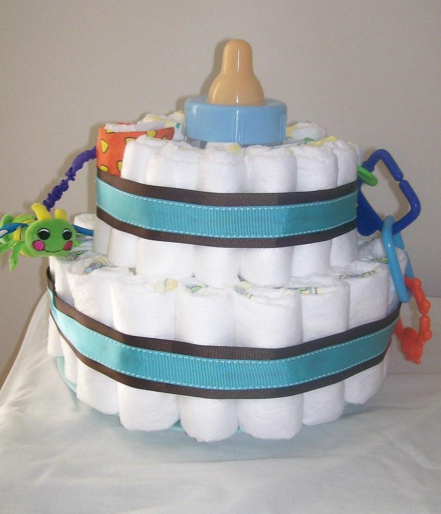 Baby Cake Diaper Gift