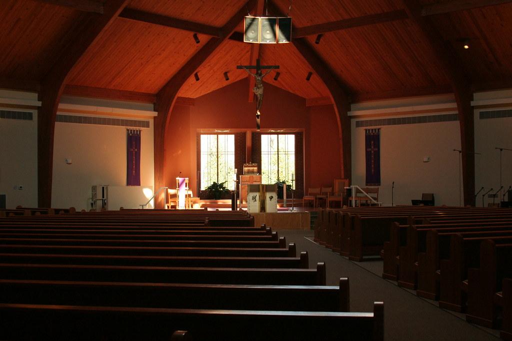 Empty Church Holy Cross Catholic Church Kernersville
