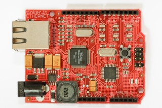 Official Arduino Ethernet preview board | by Matt Biddulph