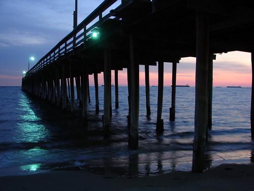 Lynnhaven fishing pier 6 2 08 chesapeake bay jim for Lynnhaven fishing pier report