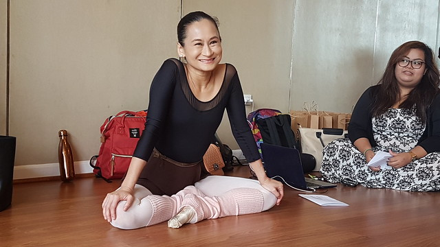 Ballet Manila pop-up class