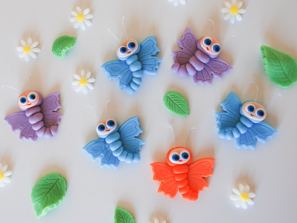 Edible Butterfly Cake Toppers Uk