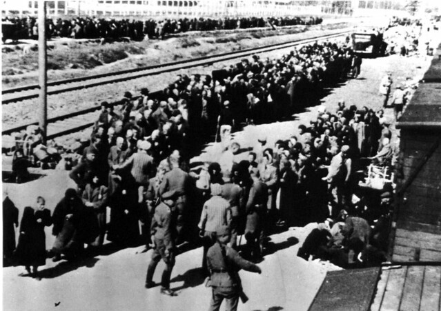 Auschwitz ii birkenau concentration camp jewish people flickr
