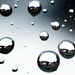 Through droplets...