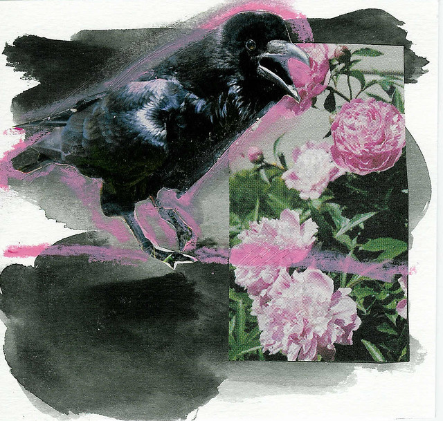 Crow about art card