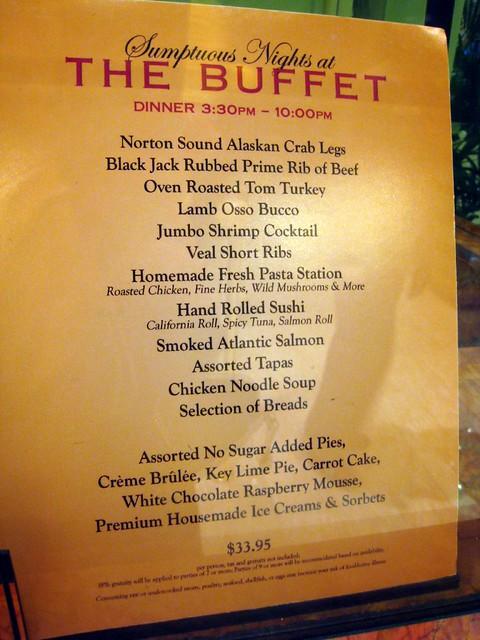 wynn buffet menu tasty if not bargain priced eraine flickr rh flickr com wynn buffet menu price wynn buffet menu items