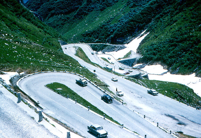 st gotthard pass i drove up and down this winding road. Black Bedroom Furniture Sets. Home Design Ideas