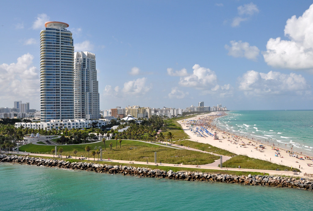 Miami, Florida, tropical vacation