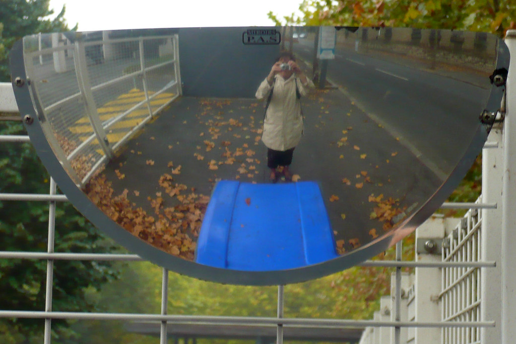 11 octobre 2007 maisons alfort autoportrait dans le miroir for Miroir 3 pans