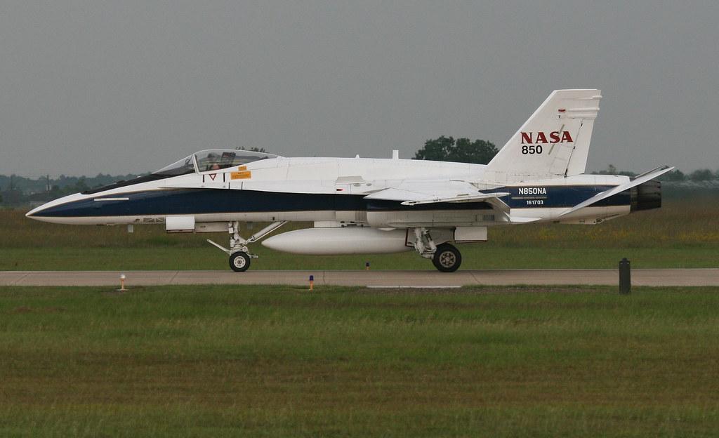 McDonnell Douglas Boeing F/A-18 Hornet N850NA NASA 850 ...