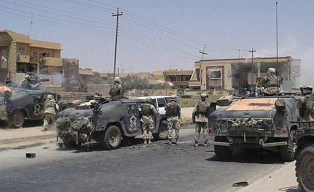 TOW1 | MOSUL, Iraq, July 22, 2003--Soldiers of the 101st ...