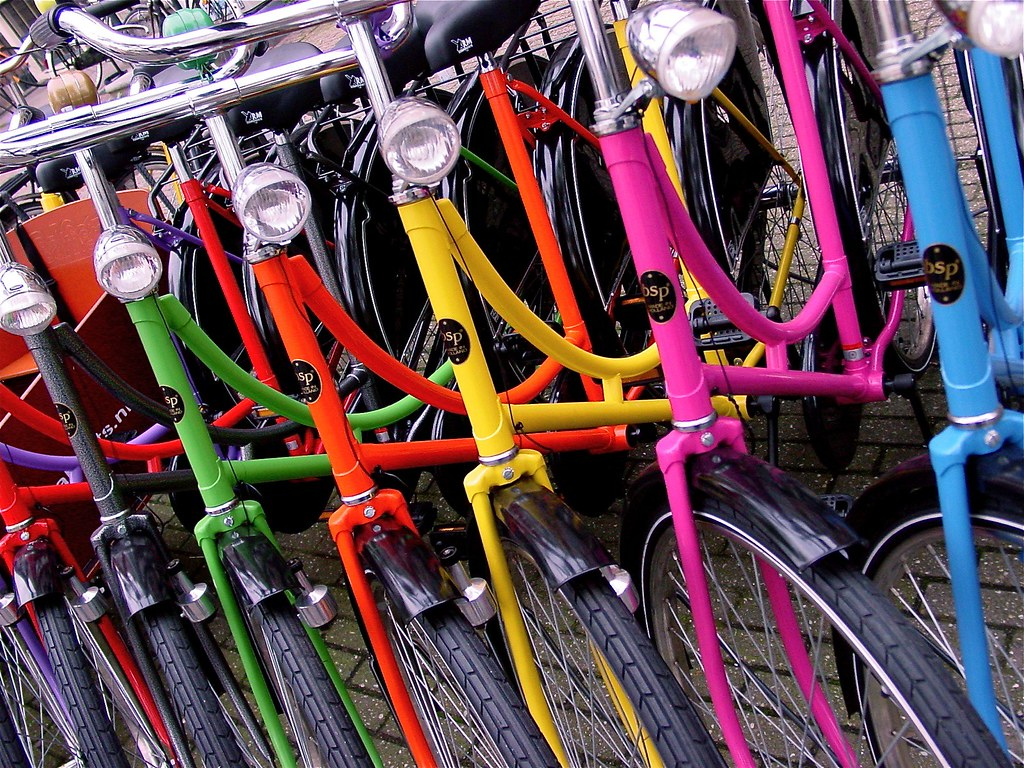 Bikes In Amsterdam Amsterdam bikes by