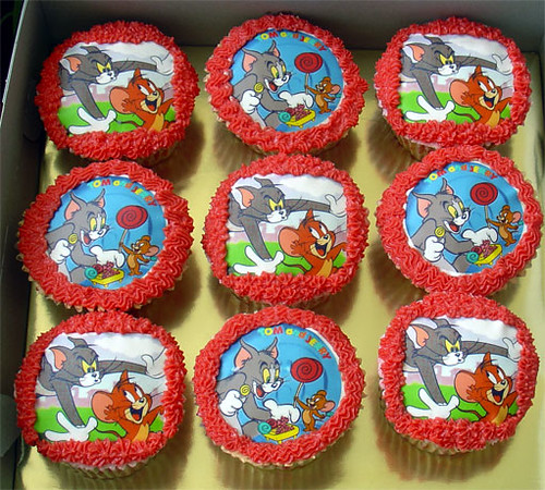 TomJerry Cupcakes Tracey Chooi Flickr