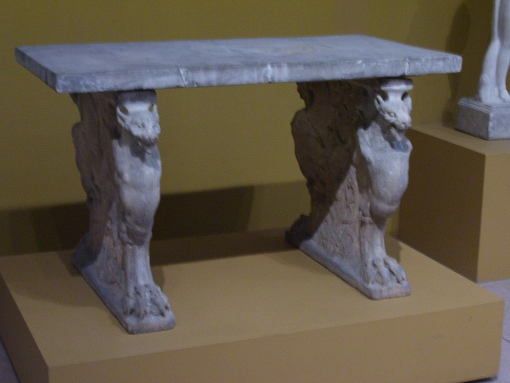 Table Cartibulum Table Cartibulum Roman Early