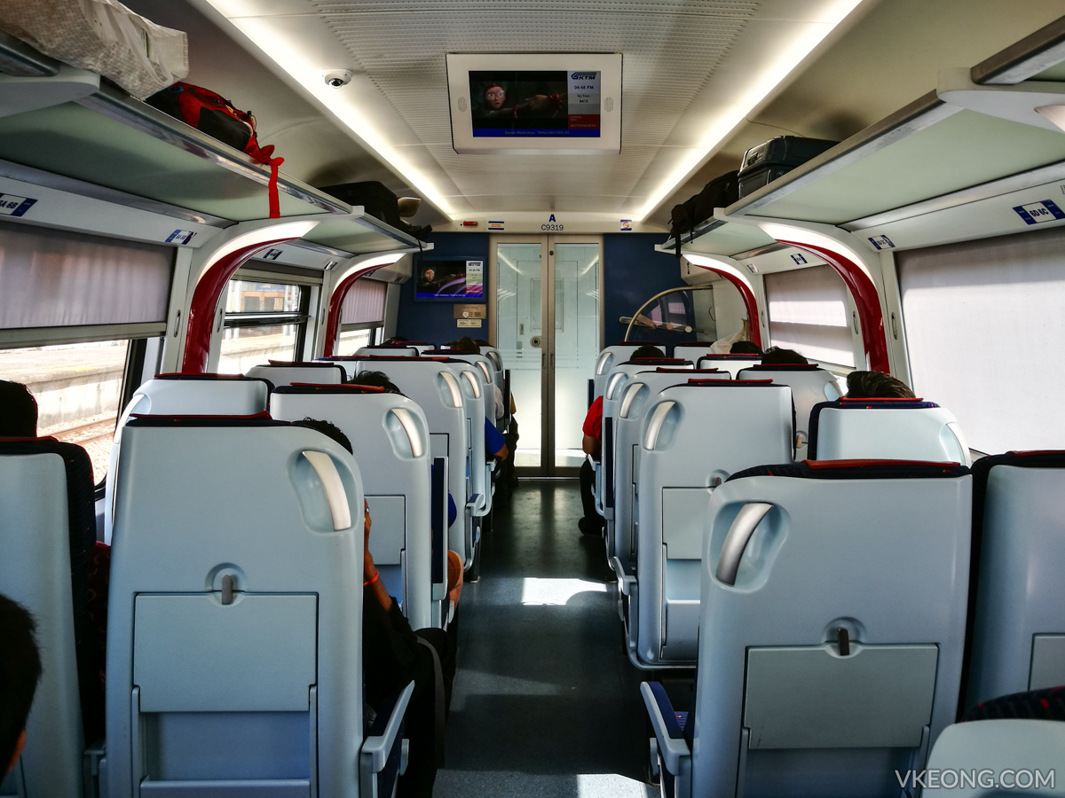 ETS Train Interior