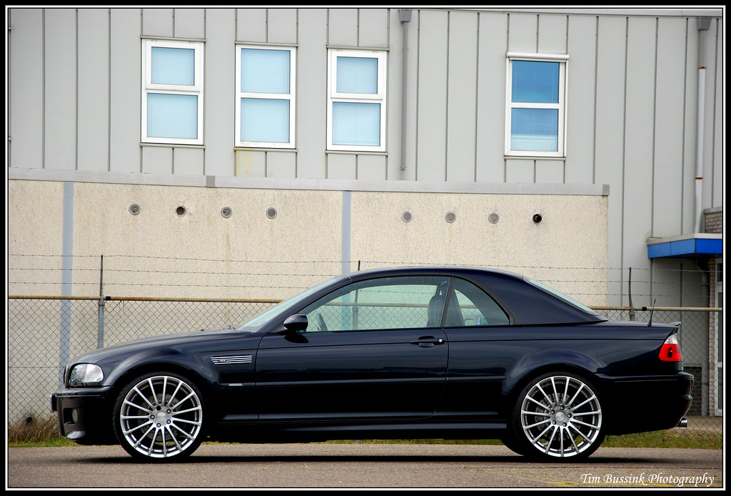 Bmw M3 E46 Cabrio Exposure Time 1 80 Quot F Number F5 6
