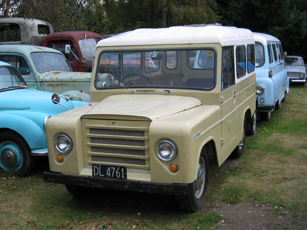"""Trekka, the Kiwi made car 
