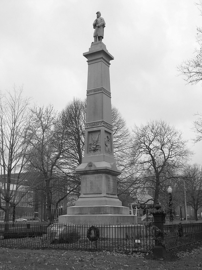 civil war monument civil war monument in painesville