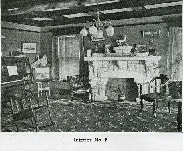Arts and Crafts Interior - 1910 | Original Bungalow ...