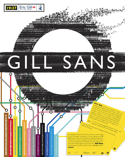 Gill Sans Type Poster | by juanf.hernandez